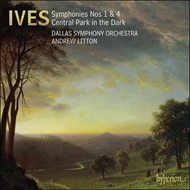 Produktbilde for Ives: Symphonies Nos 1 & 4 (CD)