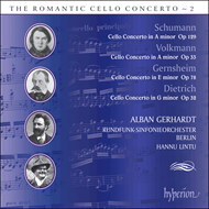 Produktbilde for The Romantic Cello Concerto, Vol 2 (CD)