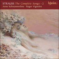 Produktbilde for Strauss, R: The Complete Songs, Vol 2 (CD)