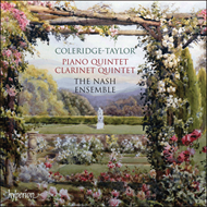Produktbilde for Coleridge-Taylor: Piano and Clarinet Quintets (CD)