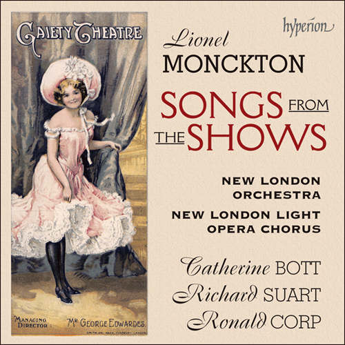 Monckton: Songs from the Shows (CD)