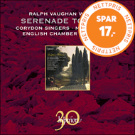Produktbilde for Vaughan Williams: Serenade To Music; 5 Mystical Songs; Flos Campi (CD)