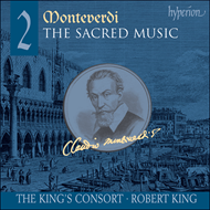 Produktbilde for Monteverdi: The Sacred Music, Vol 2 (SACD)