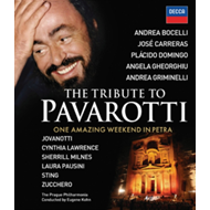 Produktbilde for The Tribute To Pavarotti (UK-import) (BLU-RAY)