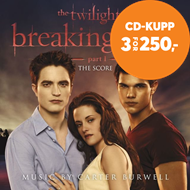 Produktbilde for The Twilight Saga: Breaking Dawn - Part 1 - Score (CD)