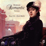 Produktbilde for Russian Romantic Songs (CD)