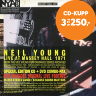 Produktbilde for Live At Massey Hall 1971 (m/DVD) (CD)
