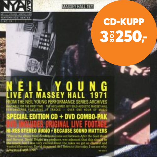 Live At Massey Hall 1971 (m/DVD) (CD)