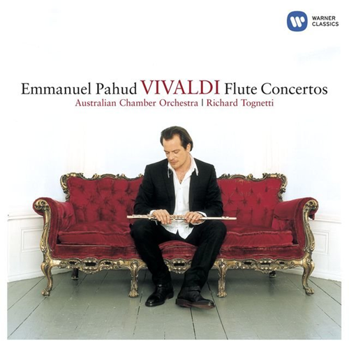 Vivaldi : Concertos for Flute and Orchestra (CD)
