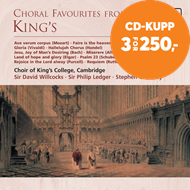 Produktbilde for Choral Favourites from King's (CD)