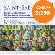 Produktbilde for Saint-Saëns: Carnival of the Animals; Symphony No 3 (CD)