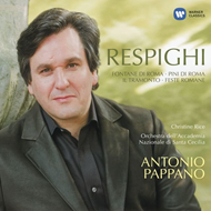 Produktbilde for Respighi: Roman Trilogy (CD)