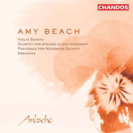 Produktbilde for Beach: Quartet for Strings / Sonata for Violin and Piano/Pastorale/Dreaming (CD)