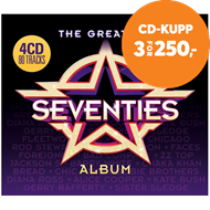 Produktbilde for The Greatest Seventies Album (4CD)