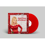 Produktbilde for A Holly Dolly Christmas (VINYL - Red)