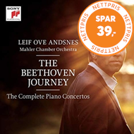 Produktbilde for The Beethoven Journey - Piano Concertos Nos 1-5 (3CD)