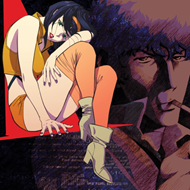 "Produktbilde for Cowboy Bebop (Original Series Soundtrack) (USA-import) (VINYL - 2LP - Red and Purple ""Swordfish/ Red Tail"")"