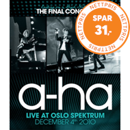 Produktbilde for a-ha - Ending On A High Note - The Final Concert: Live At Oslo Spektrum December 4th 2010 (UK-import) (DVD)