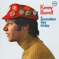 Produktbilde for Kenny Burrell - A Generation Ago Today (USA-import) (CD)
