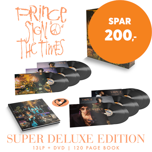 Sign 'O' The Times (Remastered) - Limited Super Deluxe Edition (VINYL - 13LP - 180 Gram + DVD + BOK)