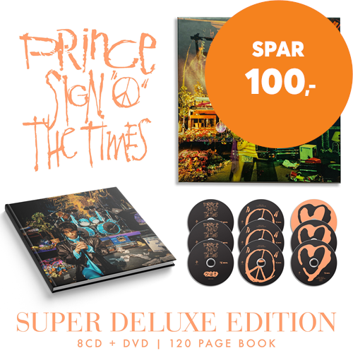 Sign 'O' The Times (Remastered) - Limited Super Deluxe Edition (8CD + DVD + BOK)