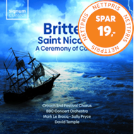 Produktbilde for Britten: Saint Nicolas; A Ceremony Of Carols (CD)