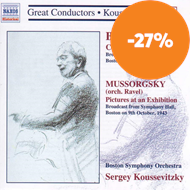 Produktbilde for Bartók: Concerto for Orchestra; Mussorgsky: Pictures at an Exhibition (CD)