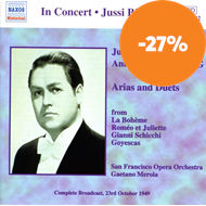 Produktbilde for Jussi and Anna-Lisa Bjorling sing Opera Arias (CD)