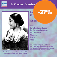 Produktbilde for Dussolina Giannini sings Arias and Duets (CD)