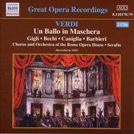 Produktbilde for Verdi: (Un) ballo in maschera (CD)