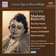 Produktbilde for Puccini: Madama Butterfly (CD)