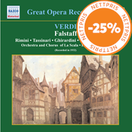 Produktbilde for Verdi: Falstaff (USA-import) (CD)