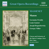Produktbilde for Massenet: Manon (CD)