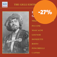 Produktbilde for Great Singers - Beniamino Gigli Vol. 1: Milan Recordings 1918-1919 (CD)