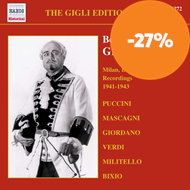 Produktbilde for The Gigli Edition, Vol. 12: Milan, Berlin and Rome Recordings 1941-1943 (CD)
