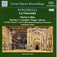 Produktbilde for Ponchielli: La Gioconda (CD)