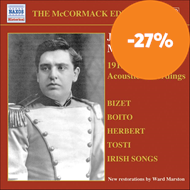 Produktbilde for John McCormack Edition, Vol. 3: The Acoustic Recordings 1912-1913 (CD)