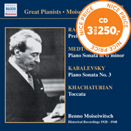 Produktbilde for Great Pianists - Benno Moiseiwitsch Vol 7 (CD)
