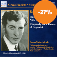 Produktbilde for Rachmaninov: Piano Concertos Nos 1 and 2; Paganini Variations (CD)