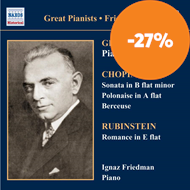 Produktbilde for Great Pianists - Ignaz Friedman (CD)