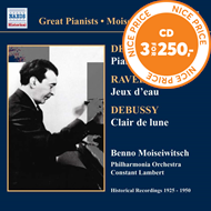Produktbilde for Great Pianists - Moiseiwitsch Vol 6 (CD)