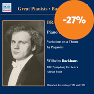 Produktbilde for Brahms: Piano Concerto No 1; Piano Works (UK-import) (CD)