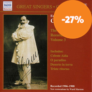 Produktbilde for Enrico Caruso - Complete Recordings, Volume 3 (CD)