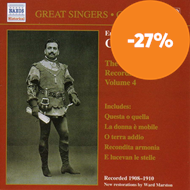 Produktbilde for Caruso - Complete Recordings, Vol. 4 (CD)