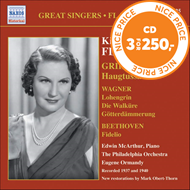 Produktbilde for Kirsten Flagstad - Grieg; Wagner; Beethoven (CD)