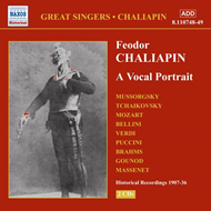 Produktbilde for Chaliapin - Vocal Portrait (CD)