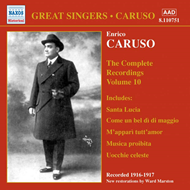 Produktbilde for Great Singers - Caruso Vol 10 (CD)