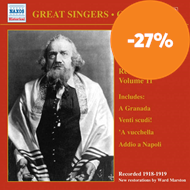 Produktbilde for The Great Singers - Caruso, Vol 11 (CD)