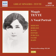 Produktbilde for Maggie Teyte - A Vocal portrait (CD)