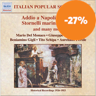Produktbilde for Italian Popular Songs, Vol 2 (CD)